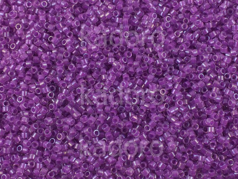 Miyuki Delica DB0073 Inside Dyed Dark Lilac AB - 5 g