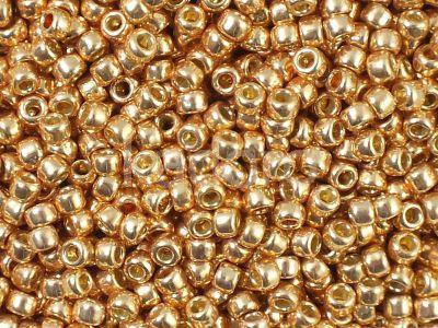 TOHO Round 8o-PF551 Permanent Finish - Galvanized Rose Gold - 100 g