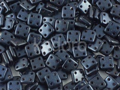 QuadraTile 6mm Metallic Suede Dark Blue - 5 g