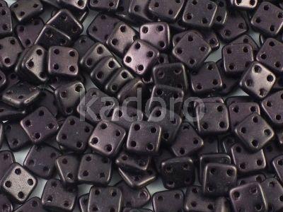QuadraTile 6mm Metallic Suede Dark Violet - 5 g