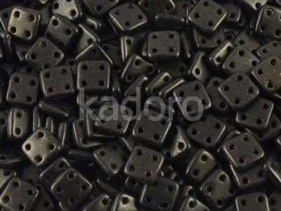 QuadraTile 6mm Metallic Suede Khaki - 5 g