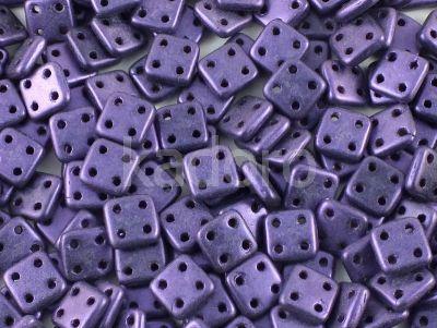 QuadraTile 6mm Metallic Suede Lavender - 5 g