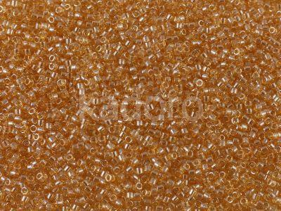 Miyuki Delica DB0101 Transp. Glazed Luster Lt. Topaz - 5 g