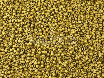 Miyuki Delica DB0371 Matte Metallic Olive Gold - 5 g