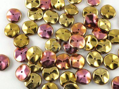 Ripple 12mm Crystal California Pink - 5 sztuk