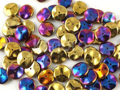 Ripple 12mm Crystal California Violet - 75 sztuk