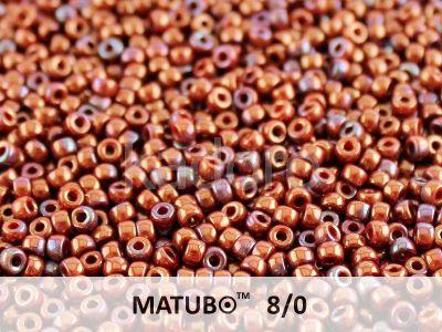 Matubo 8o Luster Iris - Opaque Red - 10 g