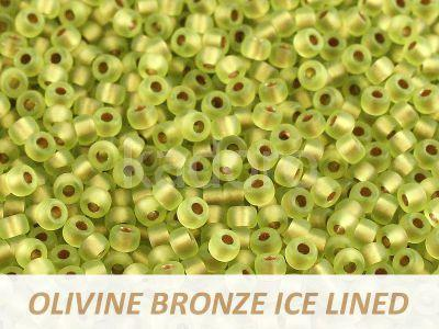 Matubo 8o Olivine Bronze Ice Lined - 10 g