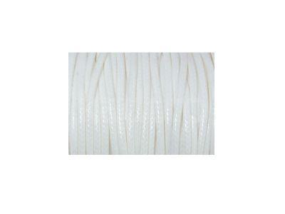 Sznurek lakierowany biały 2 mm  - 2 m