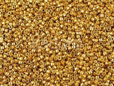 Miyuki Delica DB1832 Duracoat Galvanized Gold - 50 g