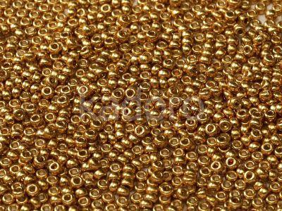 Miyuki Round 15o-4202 Duracoat Galvanized Gold - 5 g