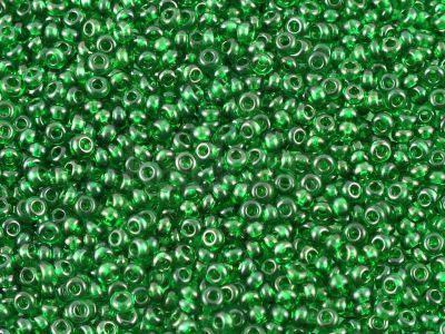 PRECIOSA Rocaille 10o-Glass Green - 50 g