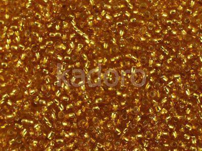 PRECIOSA Rocaille 10o-Silver-Lined Med Topaz - 50 g