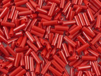PRECIOSA Bugle 3-Opaque Dk Red - 10 g