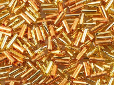 PRECIOSA Bugle 3 Amber MIX - 10 g