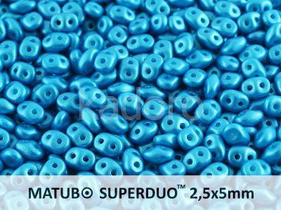 SuperDuo 2.5x5mm Pearl Shine Azuro - 10 g