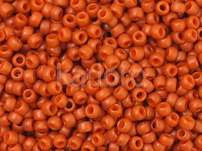 TOHO Round 8o-2611F Semi Glazed - Orange - 10 g