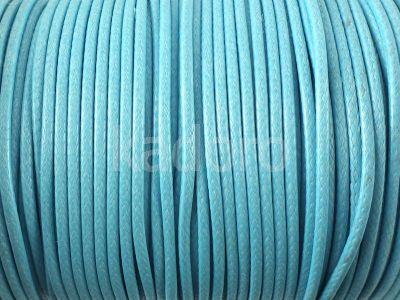 Sznurek lakierowany błękitny 2 mm - 2 m