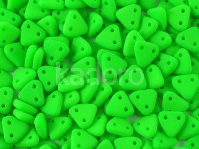 Triangle 6mm Neon Green - 5 g