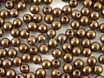 Round Beads Dark Bronze 4 mm - opakowanie