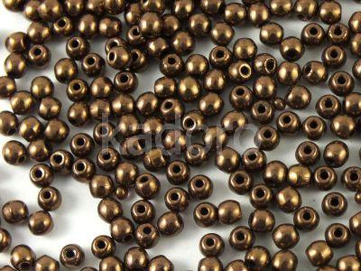 Round Beads Dark Bronze 3 mm - opakowanie