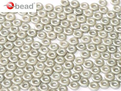 O bead Pastel Silver - 5 g
