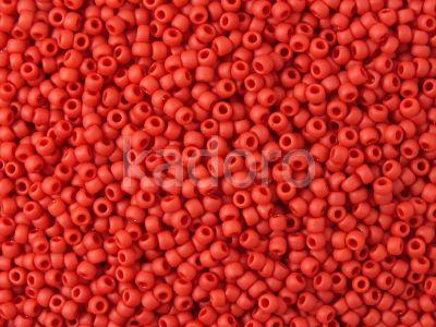 TOHO Round 11o-45F Opaque-Frosted Pepper Red - 100 g