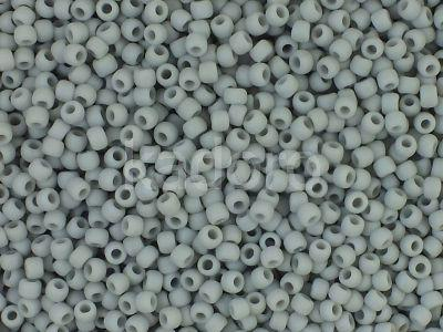 TOHO Round 11o-53F Opaque-Frosted Gray - 100 g
