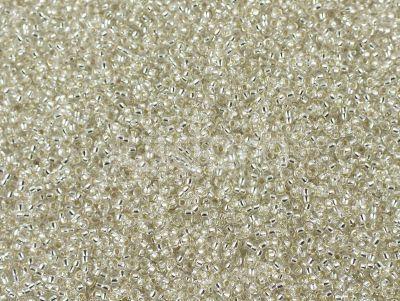 Miyuki Round 15o-1 Silver-Lined Crystal - 5 g