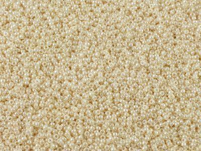 Miyuki Round 15o-592 Opaque-Lustered Lt Beige - 5 g