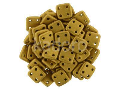 QuadraTile 6mm Matte Metallic Brass Gold - 5 g