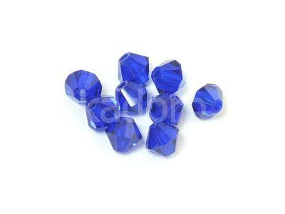 Bicone 3mm Cobalt - 100 sztuk