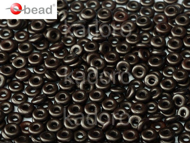 O bead Pastel Dark Brown - 5 g