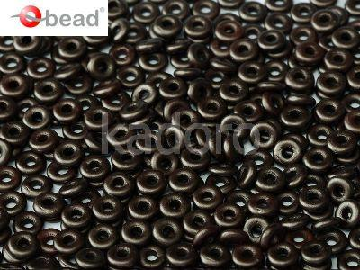 O bead Pastel Dark Brown - 5 g