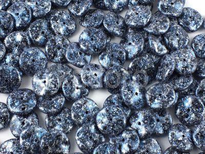 Ripple 12mm Metallic Marble Blue - 75 sztuk