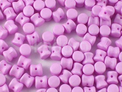 Pellet 4x6mm Light Purple Silk Mat - 20 sztuk