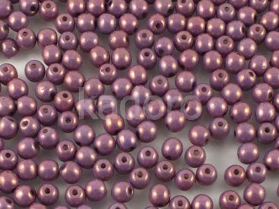 Round Beads Luster - Metallic Amethyst 4 mm - opakowanie