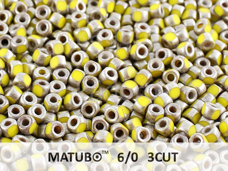 3CUT 6o Opaque Yellow - Old Silver - 5 g