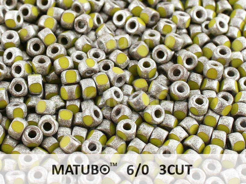 3CUT 6o Opaque Olivine - Old Silver - 50 g