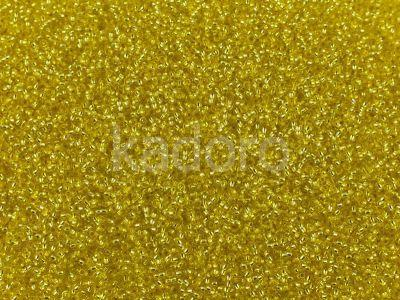 PRECIOSA Rocaille 11o-Silver-Lined Lemon SH - 50 g