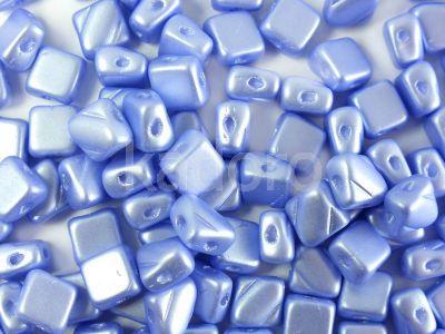 Silky Beads 6mm Pastel Lt Sapphire - 20 sztuk