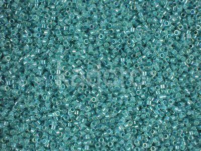 Miyuki Delica DB0079 Inside Dyed Turquoise Green AB - 5 g