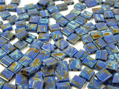 Miyuki TILA TL4518 Opaque Cobalt Picasso - 5 g