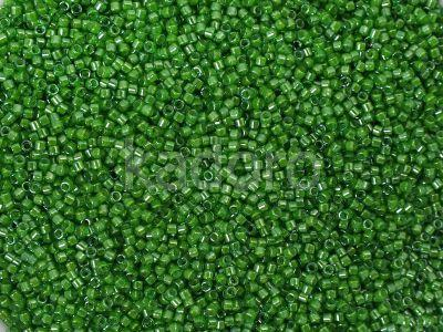 Miyuki Delica DB0274 Green Inside Dyed Lime - 5 g