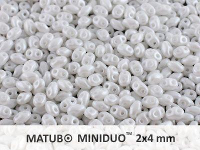 miniDUO 2x4mm Pearl Shine White - 5 g