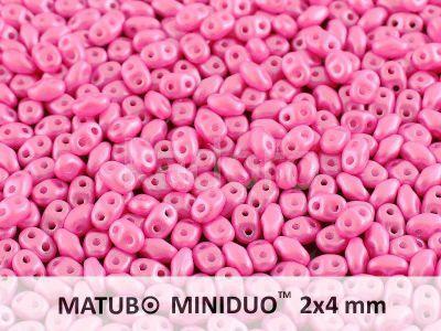 miniDUO 2x4mm Pearl Shine Light Fuchsia - 50 g