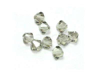 Bicone 3mm Black Diamond - 100 sztuk