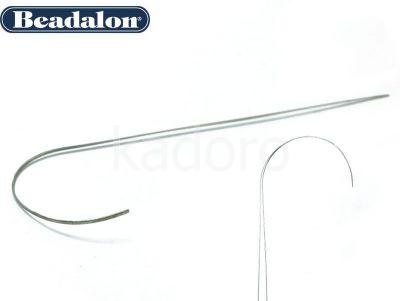 Igła Beadalon Curved Big Eye 12.7 cm - 1 sztuka