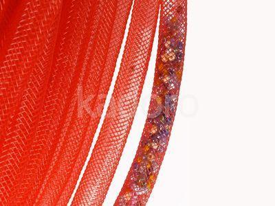 Siatka jubilerska czerwona 4 mm - 1 metr