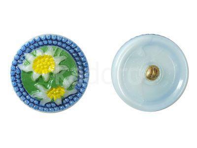 Guzik szklany nr205 - 27 mm